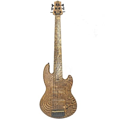 Form Factor Audio Wombat Pyro-Graphic 6-String Custom Bass Guitar for sale