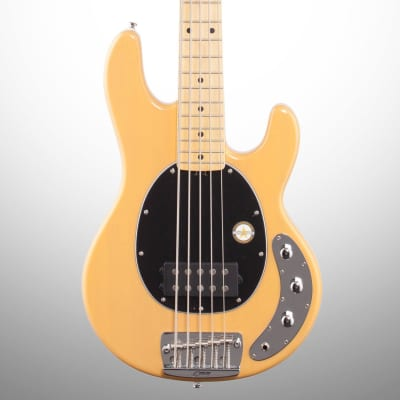 Sterling by Music Man Ray25 StingRay Classic Electric Bass, Butterscotch