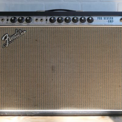 1969 Fender Pro Reverb with Roadcase, Recently Serviced