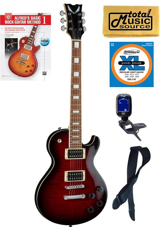 dean tbx fm trd thoroughbred x flame top electric guitar reverb. Black Bedroom Furniture Sets. Home Design Ideas