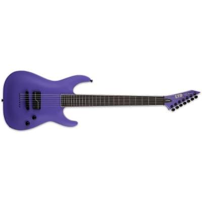 ESP LTD SC-607B 1 HUM Stephen Carpenter, 7 String Baritone, Purple Satin for sale
