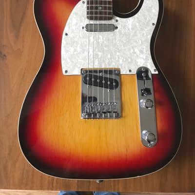 "Monterey Tele caster 1990""s 3 tone burst"
