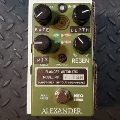 Alexander Pedals F.13N Flanger Neo Series FREE SHIPPING
