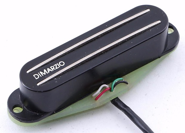 DiMarzio DP182 Fast Track 2 Dual Rail Strat Pickup Bridge | Reverb