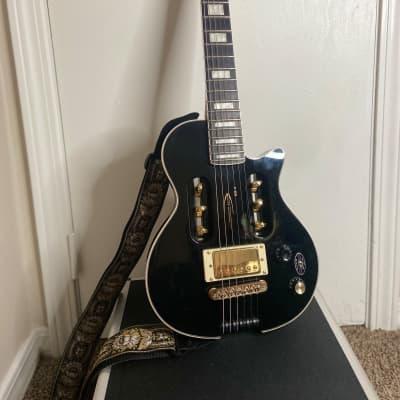 Traveler EG-1 Custom Electric Travel Guitar V2 Black for sale