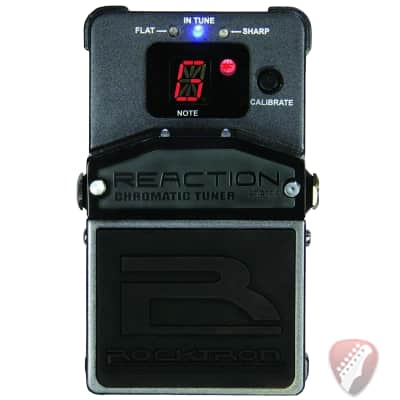 Rocktron Reaction Chromatic Tuner - Tuning Pedal image