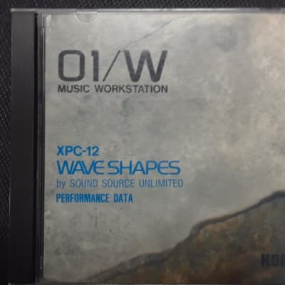 "Korg 01/W Workstation Synth XPC-12 ""Wave Shapes"" PCM Data Memory Card Unused."