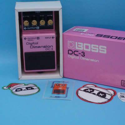 Boss DC-3 Digital Dimension Chorus w/Original Box   Rare Blue Label (made in Japan)   Fast Shipping!