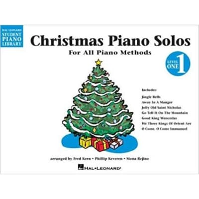 Christmas Piano Solos For All Piano Methods - Level 1