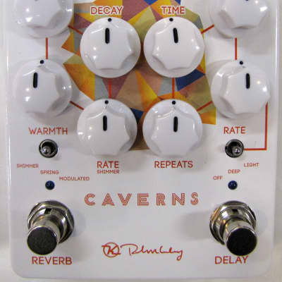 Used Keeley Caverns Delay Reverb V2 Guitar Effects Pedal!