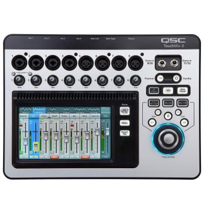 QSC TouchMix-8 Touch Screen Compact Digital Mixer