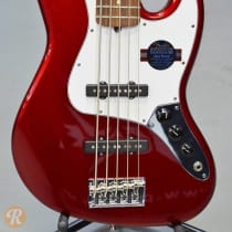 Fender American Standard Jazz Bass V 2010s Mystic Red image
