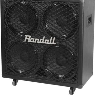 "Randall RG412 200-Watt 4x12"" Guitar Speaker Cabinet"