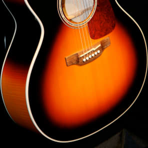 Takamine GJ72CE BSB G70 Series Jumbo Cutaway Acoustic/Electric Guitar Gloss Brown Sunburst