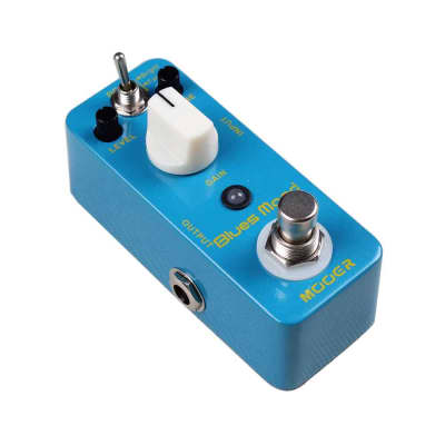 Mooer Blues Mood Classic Blues Overdrive MICRO Guitar Effect Pedal True Bypass NEW