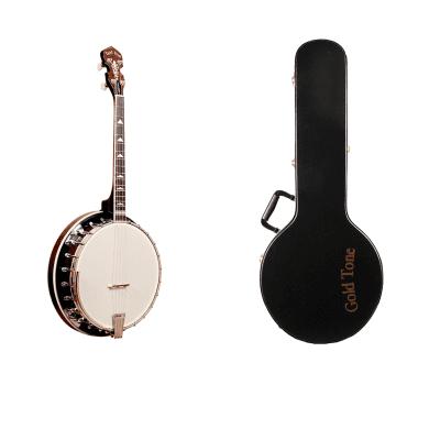 Gold Tone IT-250R Professional 4-String Irish Tenor Banjo with Hardshell Case & Resonator