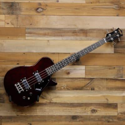 Gretsch Guitars G2220 Electromatic Junior Jet Bass II Short-Scale, Walnut Stain, Black Walnut Fingerboard