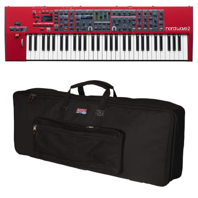 Nord Wave 2 61-Key Performance Synthesizer - Carry Bag Kit