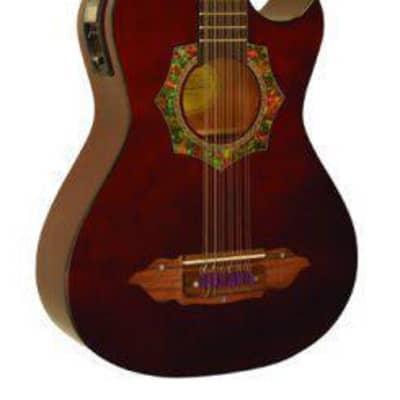 BZBS101E Barraza Bajo Sexto Guitar with 4 Band EQ 1/4