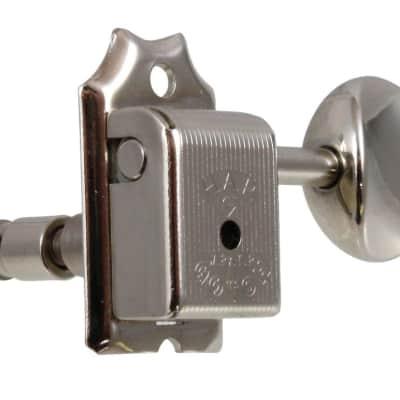 Gotoh SD90 3x3 Vintage Style Locking Tuning Keys Nickel TK-0735-001 NEW