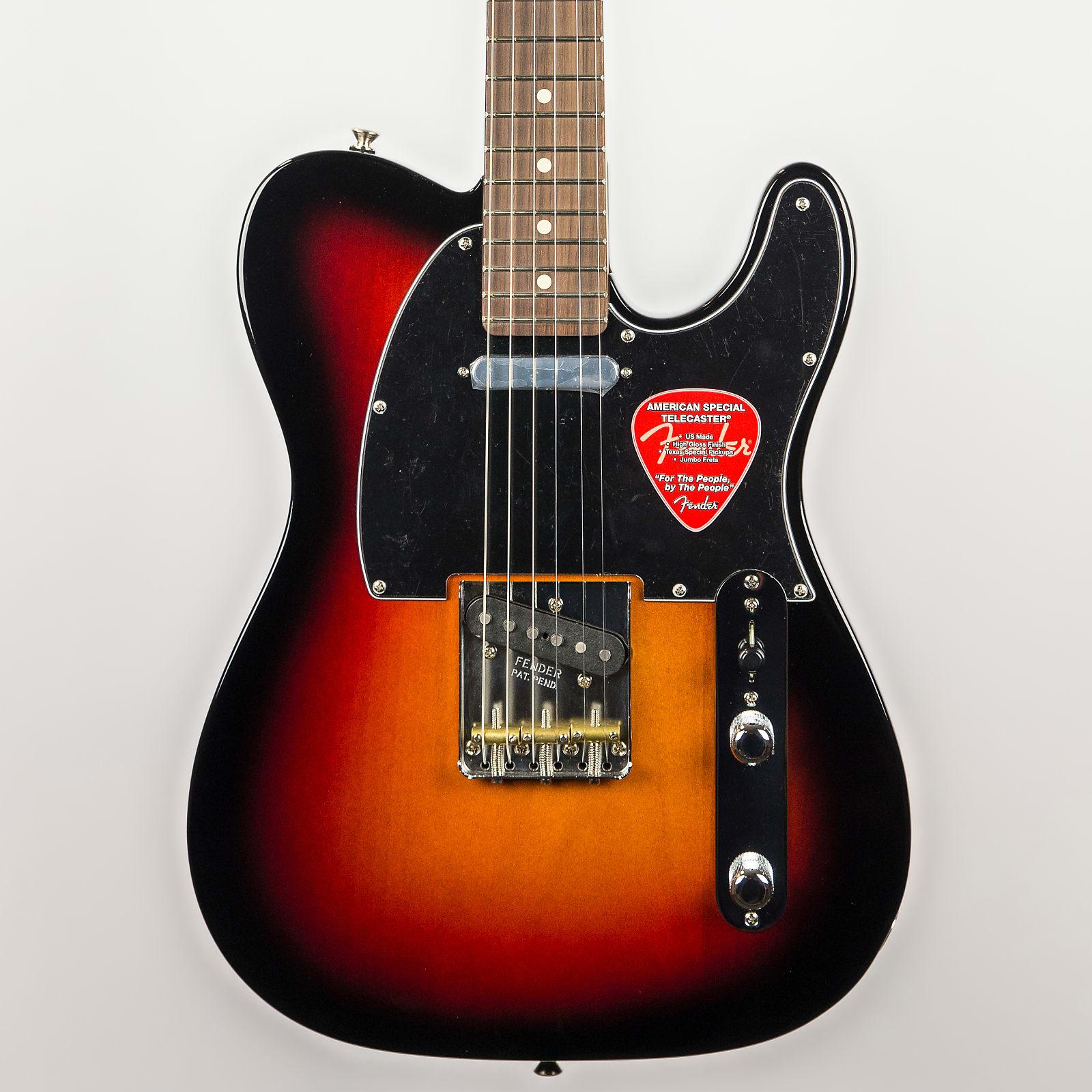 Fender American Special Telecaster In 3 Color Sunburst