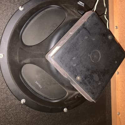 Fender  Silver drip face cabinet Early-late 60s Silver face/blackberry
