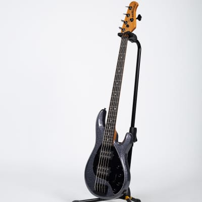 Ernie Ball Music Man StingRay 5-String Bass Guitar - Charcoal Sparkle for sale