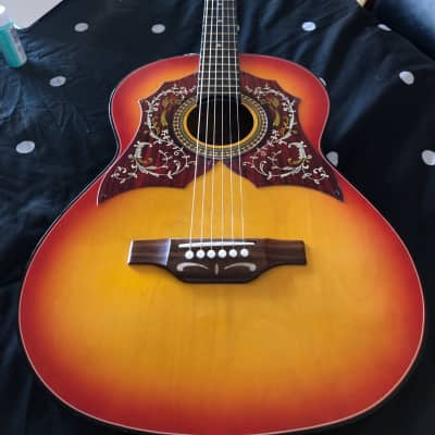 Circa 1975 Castilla Hummingbird Acoustic Copy for sale