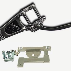 NEW USA Bigsby B7 & Vibramate V7-335G Aluminum tremolo bar Combo kit No Holes! Fits Gibson ES335/345