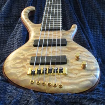 Ritter Roya 6 String Bass 2006 Natural Larchbalm for sale