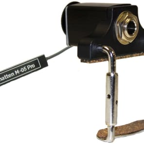 Schatten M-06 PRO Stick-on Mandolin Pickup with Carpenter Jack, Volume Control
