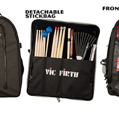 Vic Firth Vicpack -- Drummer's Backpack - VICPACK