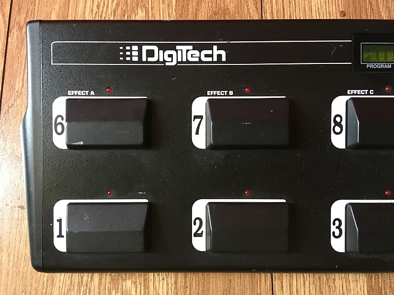 digitech control one foot controller manual