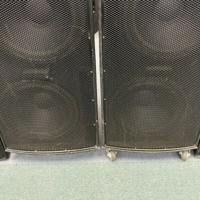 EAW (2) LA125 & (2) LA115 System 4 Speakers with Covers and Casters