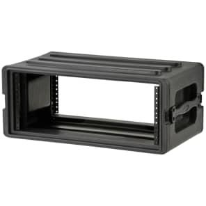 SKB 1SKB-R4S 4U Shallow Roto-Molded Rack Case with Steel Rails