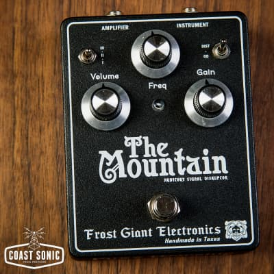 Frost Giant Electronics  The Mountain Distortion