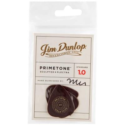Dunlop Primetone Standard Smooth Picks 3-Pack, 511P - 1.0