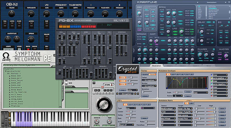 Free Plugins - The Synth Collection