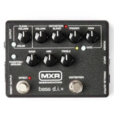MXR M80 Bass DI + Bass Direct Input Guitar Effects Pedal for sale