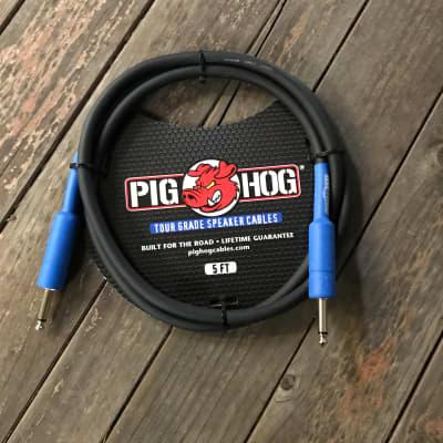 Pig Hog 9.2 Mm Speaker Cable, 5 Ft (14 Gauge Wire)