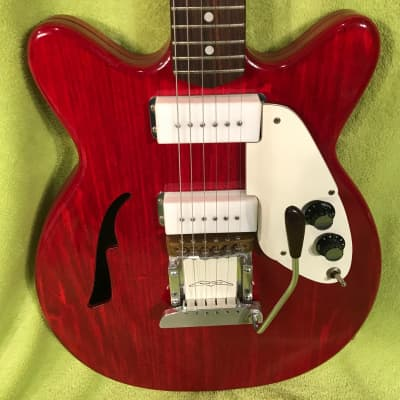 Micro-frets Calibra 1 1972 cherry red for sale