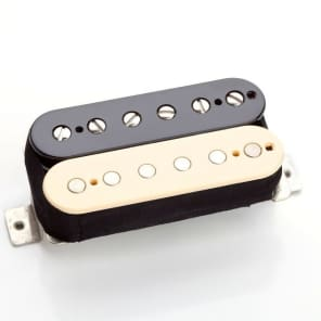 SEYMOUR DUNCAN '59 MODEL 4CONDUCTOR SH-1n NECK REVERSE ZEBRA - BLACK/CREAM