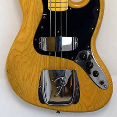 Fender Jazz Bass 1975 station music 30th AV #8766 for sale
