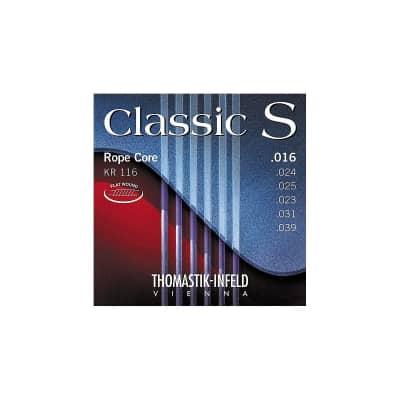 Thomastik-Infeld KR116 Classic S Rope Core Acoustic Guitar Strings  - Light (.16 - .39)