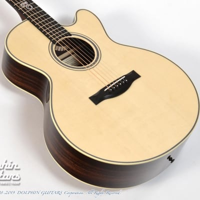 Santa Cruz FS Custom Songbird w/Abalone Vines Inlay -Free Shipping! -Demo Video for sale