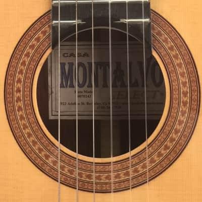 Casa Montalvo Fleta Model Classical Guitar 2002 for sale