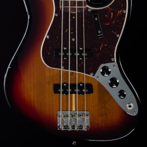 Fender American Original '60s Jazz Bass 3-Tone Sunburst (416) for sale