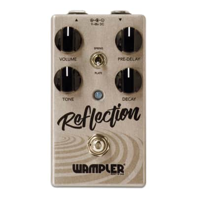 Wampler Reflection Reverb Pedal - Immaculate with Full Warranty