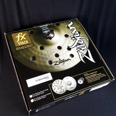 """Zildjian 8"""" FX Stack Cymbal Pair With Mount"""