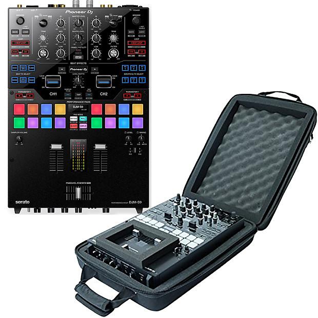 Pioneer DM-S9 Serato DJ Mixer + Magma DJM-S9 Case Bundle
